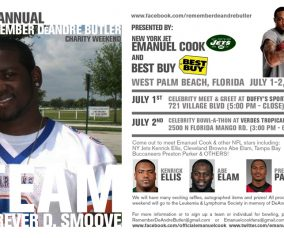 NY Jets Safety Emanuel Cook To Host Charity Weekend