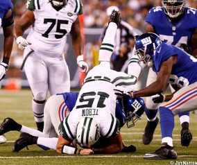 Jets Fall To Giants