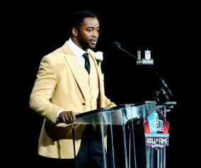 Curtis Martin Hall Of Fame Induction Ceremony