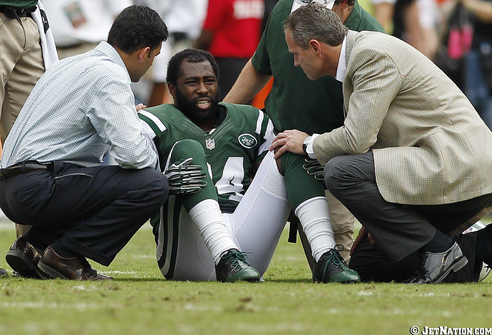 Jets On Darrelle's Injury