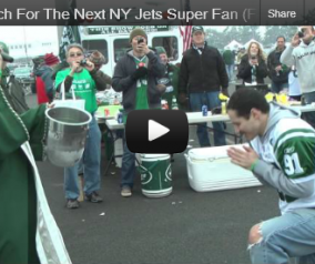 Jets \ Cardinals Tailgating Video