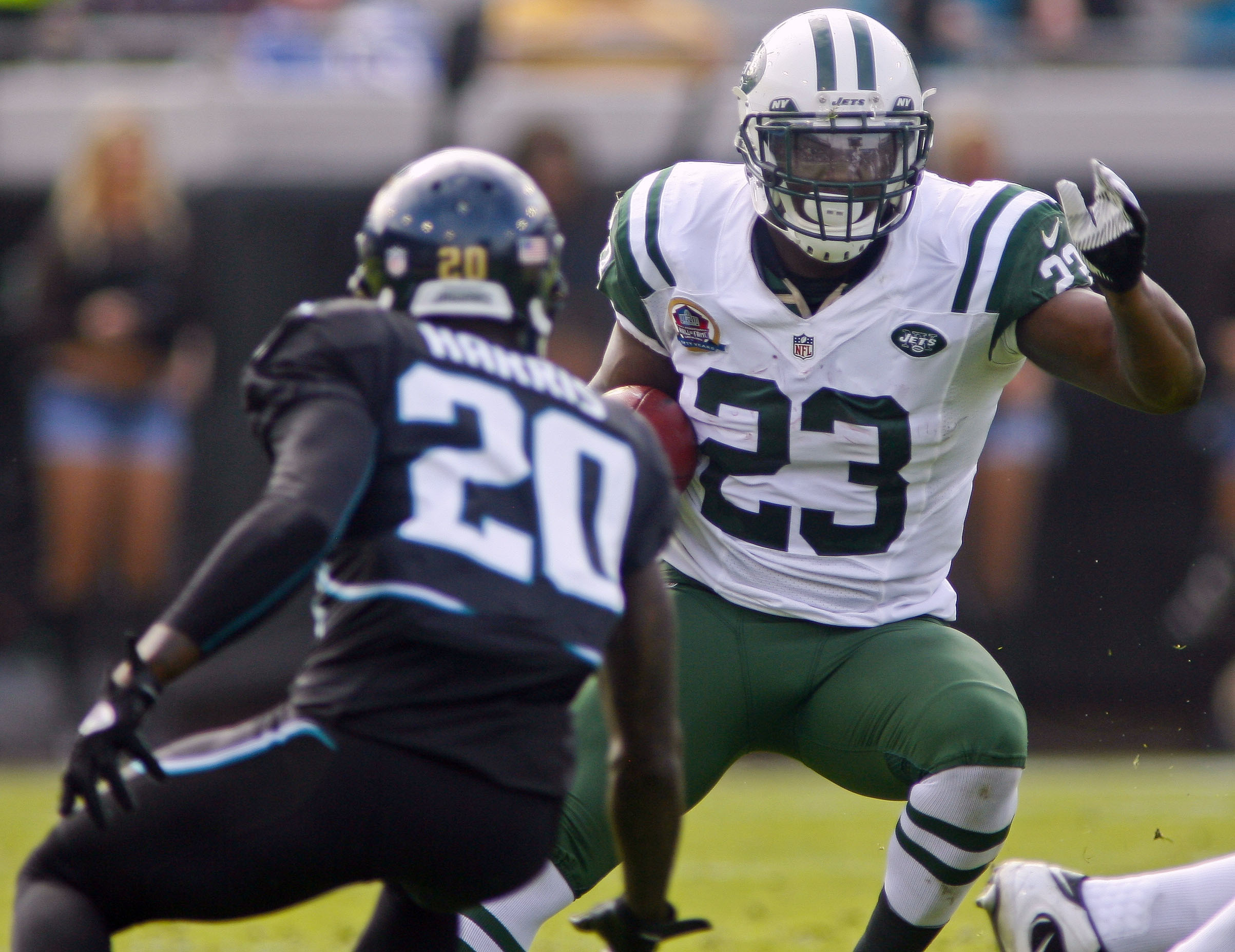 Jets Top Jaguars, 17-10