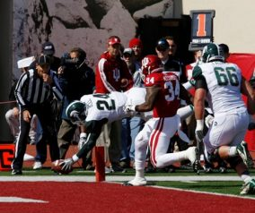 Michigan State RB Le'Veon Bell To Visit Jets