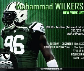 Muhammad Wilkerson Autograph Signing