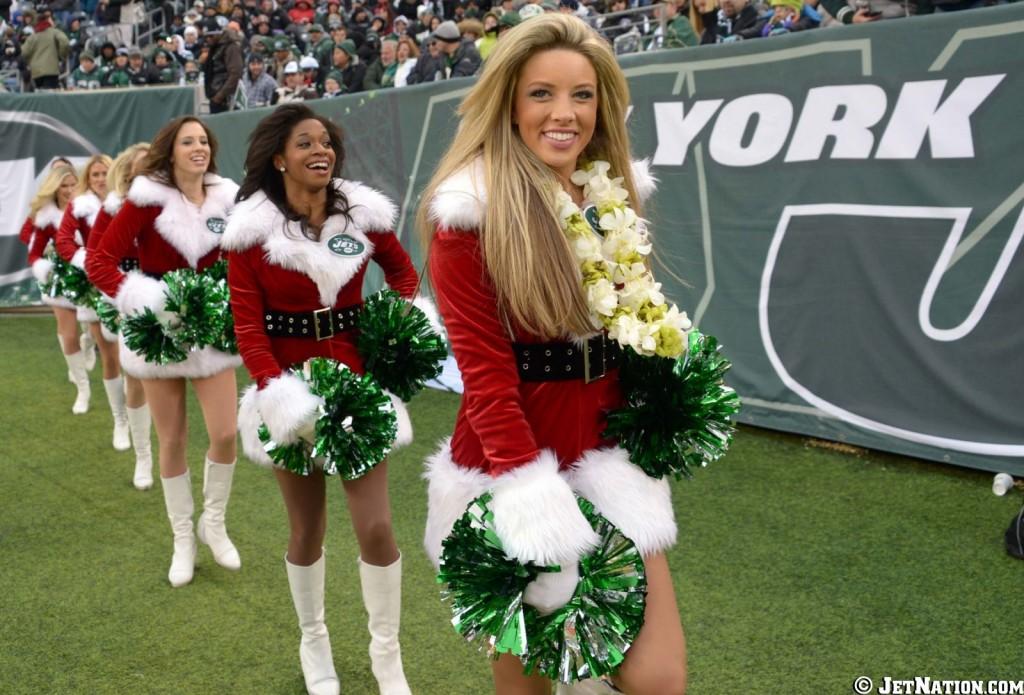 NY Jets Flight Crew - Christmas