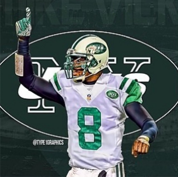Michael Vick To Wear # 8