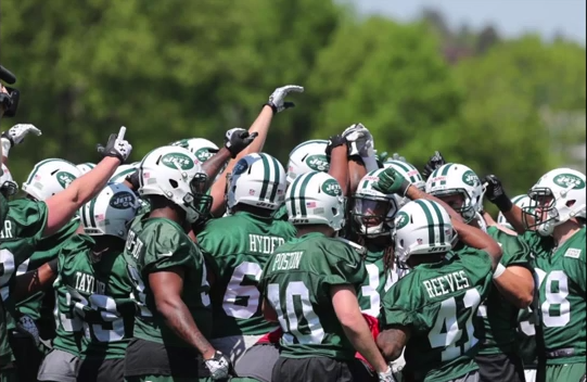 NY Jets Rookie Minicamp Video