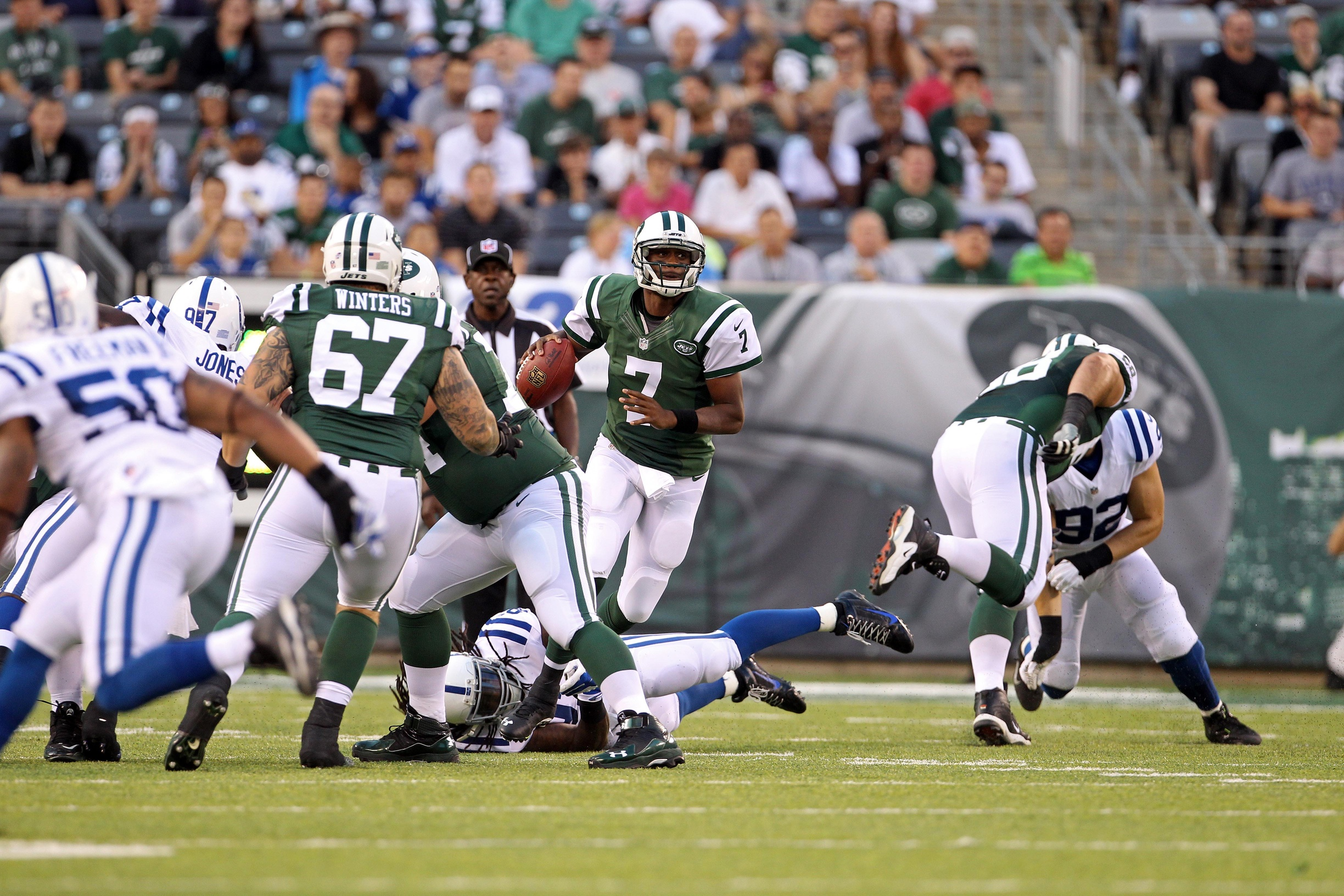 Jets Conquer Colts In First Preseason Game