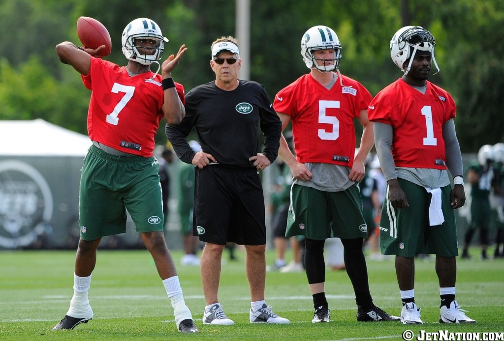 Geno Smith, Matt Simms, Michael Vick