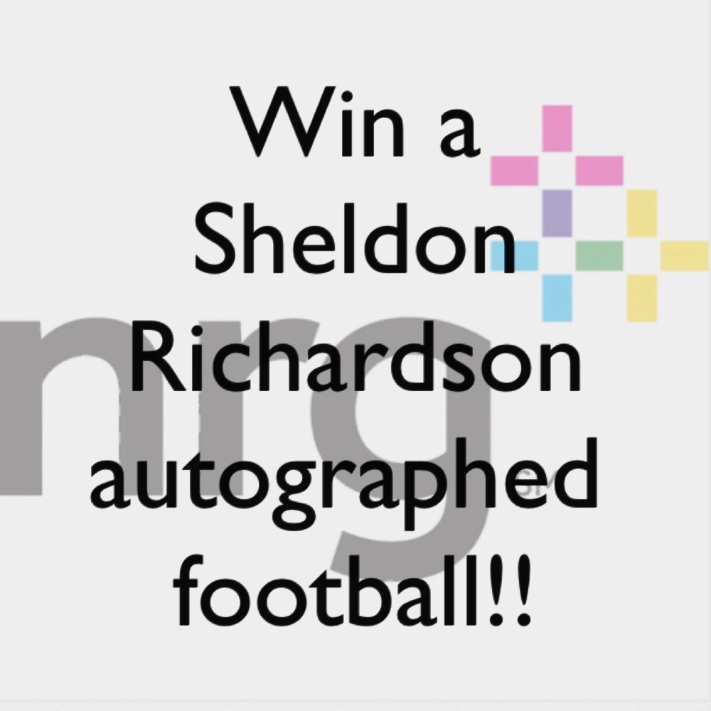 Sheldon Richardson Autographed Football Contest