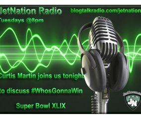 NY Jets Hall of Famer Curtis Martin on JetNation Radio