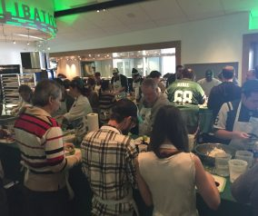 Cooking for Super Bowl 49 with the Jets and ICE