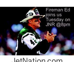 Jets Talk With Fireman Ed