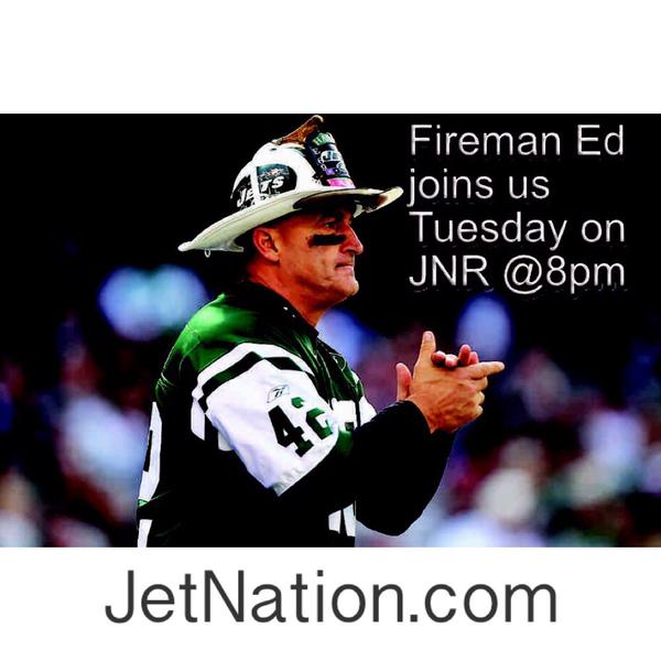 Jets Talk With Fireman Ed