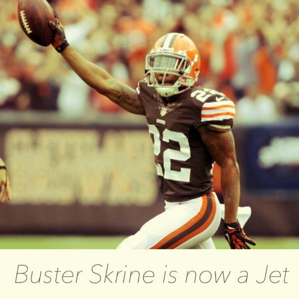 Jets Sign CB Buster Skrine