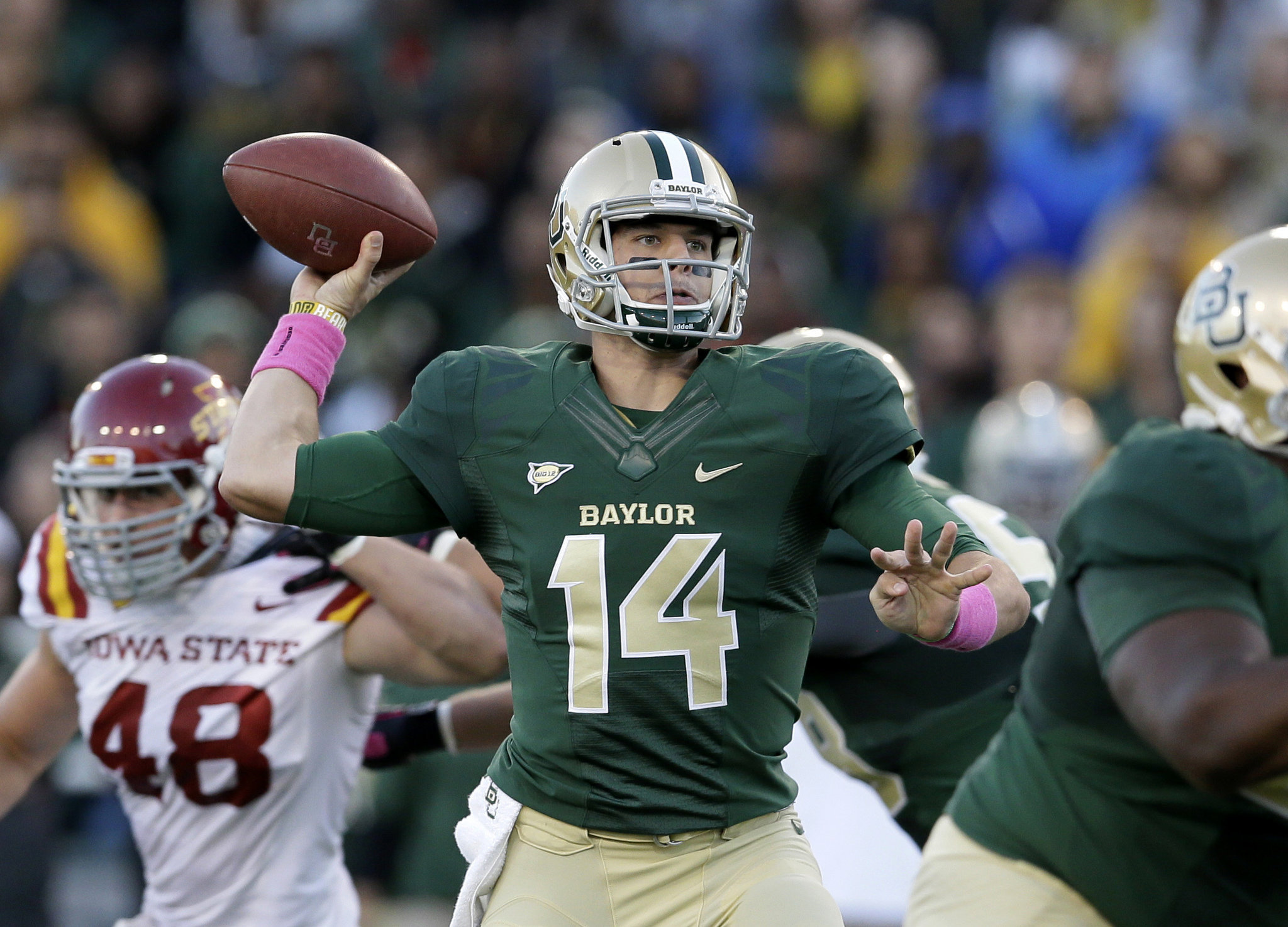 Jets Grab Baylor Quarterback Bryce Petty