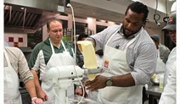 The New York Jets and the Institute of Culinary Education (ICE)
