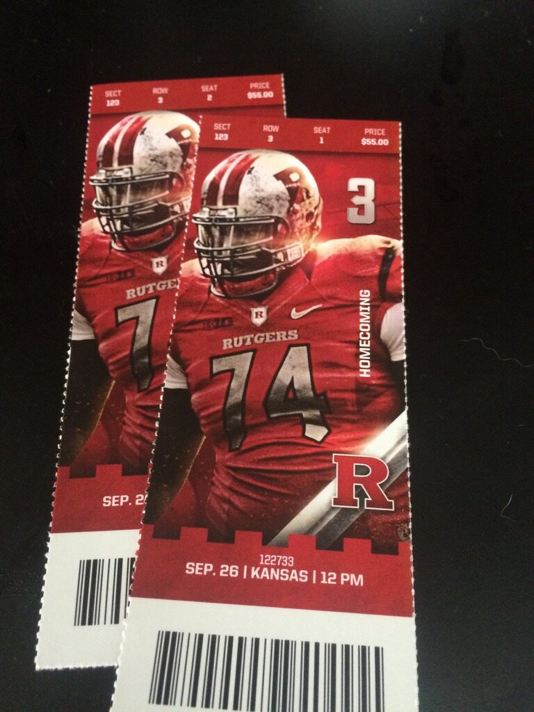 Win Rutgers Tickets (vs Kansas Jayhawks)