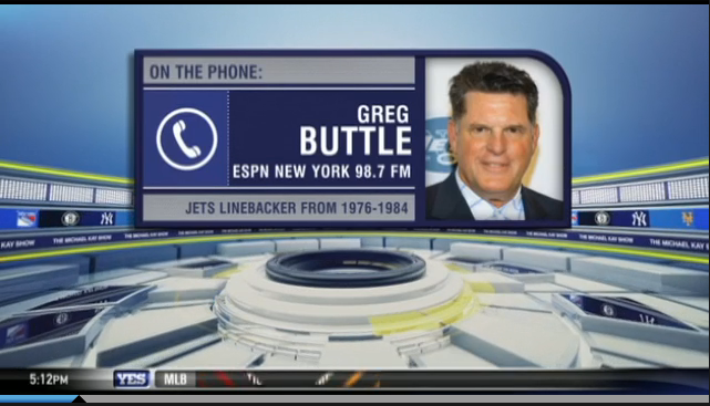 Greg Buttle on the Michael Kay Show