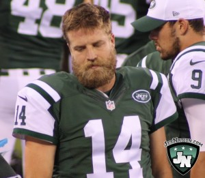 Despite his on-field struggles and pending free agency, Ryan Fitzpatrick will remain the Jets starting quarterback.