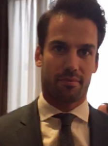 Eric Decker Receives The Hometown Hero Award At The United Way NYC's Annual 23rd Gridiron Gala