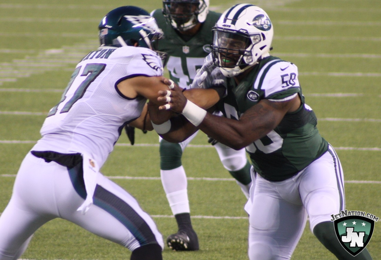 Jets Linebacker Barnes set to Make Some Noise?