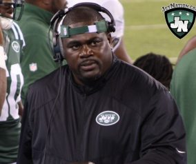Pepper gets Salty; D-Line Coach Snubs Jets Scribes