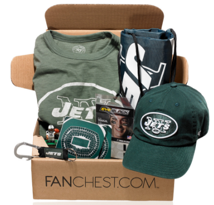 NY Jets Fanchest; Cool Jets Gear