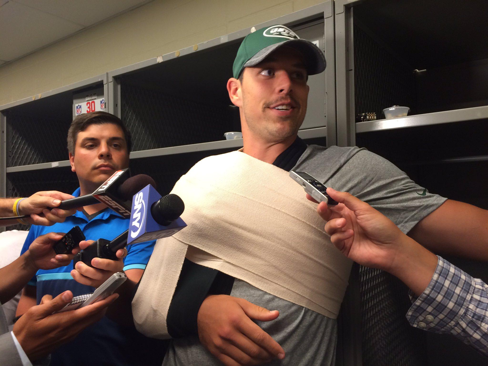 Petty Injures Shoulder; XRays Negative