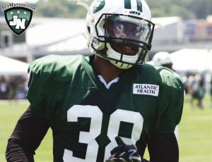 It's time for the Jets to take a glimpse at their future at cornerback and go with Juston Burris.