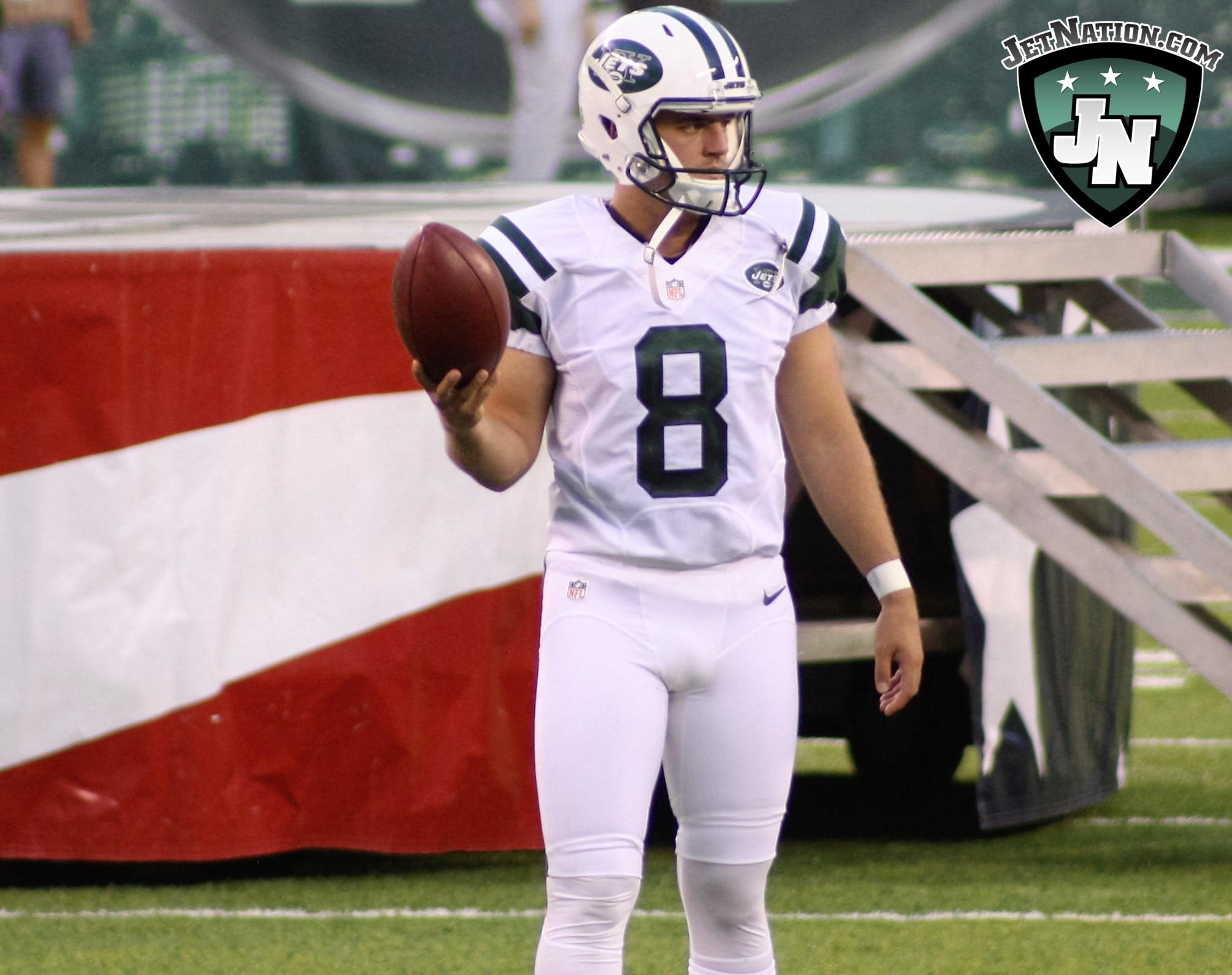 Jets Bring Back Kicker Ross Martin