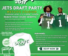2017 Jets Draft Party