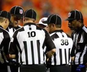 NFL To Use Replacement Referees In Regular Season