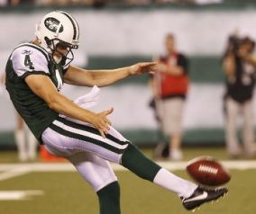 Jets Cut Punter Conley