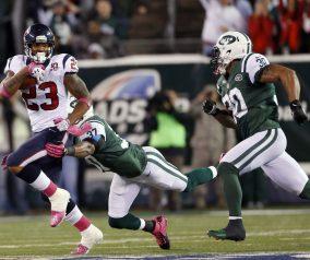 New York Jets vs the Houston Texans
