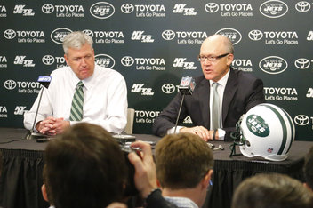 Rex Ryan and Woody Johnson