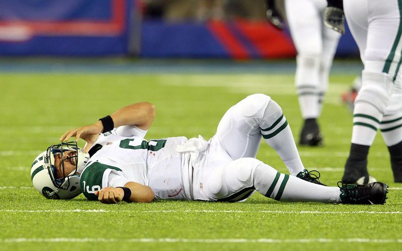Jets Say Sanchez Is Day To Day