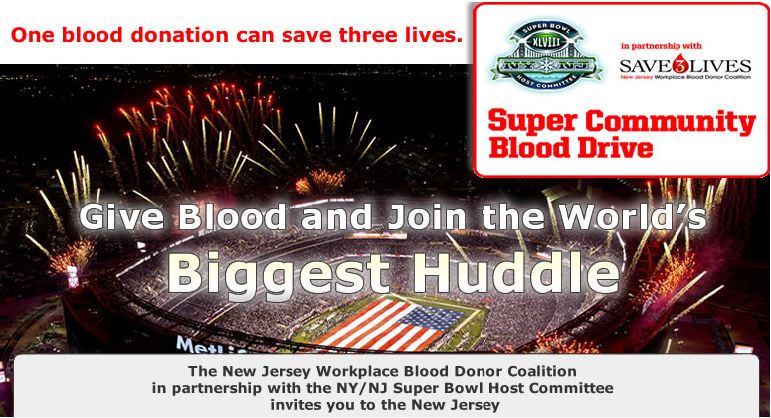 Blood Drive At MetLife: Tuesday 10/01