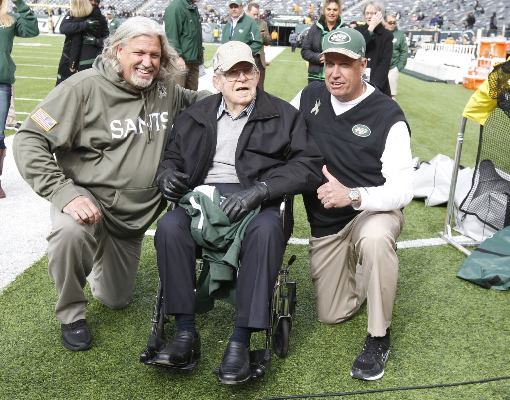 Rex Ryan, Rob Ryan, Buddy Ryan