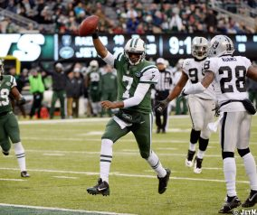 Geno Smith Prepares For The Panthers