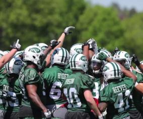 NY Jets Rookie Minicamp Video