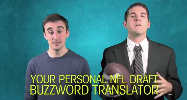 NFL Draft Buzzword Translator