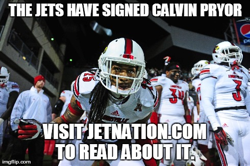 Jets Sign Calvin Pryor