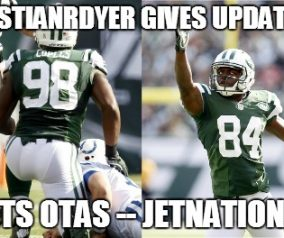 Jets OTA Updates From Kristian Dyer