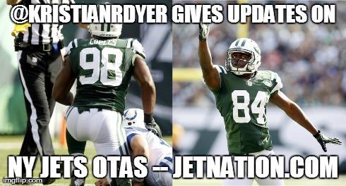 Jets OTA Updates From Kristian Dyer