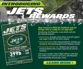 Jets Rewards Program Postponed for the 2020-21 Season