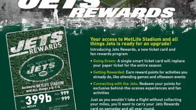 Jets Rewards Program Postponed for the 2020-21 Season