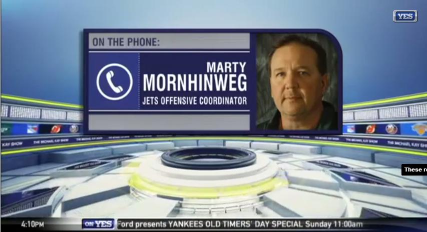 Marty Mornhinweg Previews The Offense