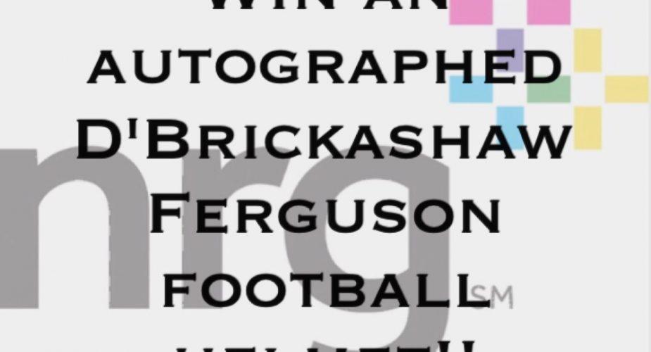 Win An Autographed D'Brickashaw Ferguson Helmet