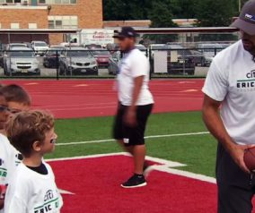 Eric Decker Football ProCamp